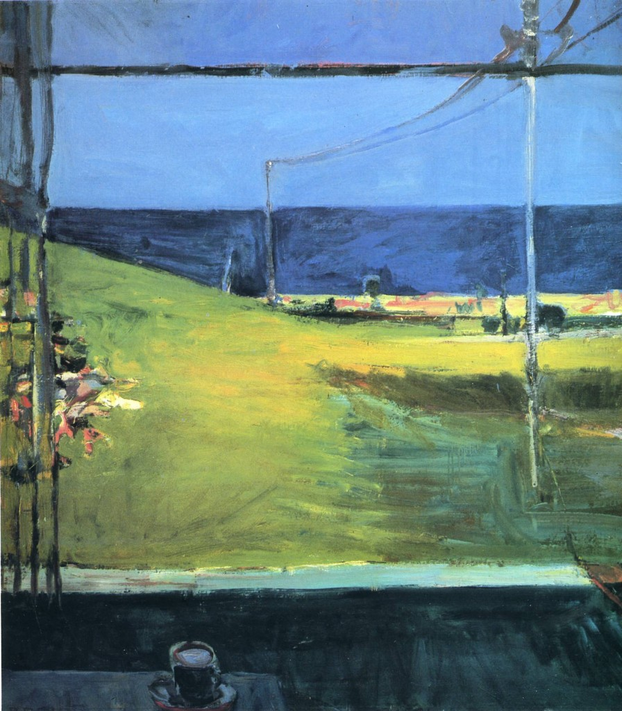 Richard Diebenkorn Horizon ocean view