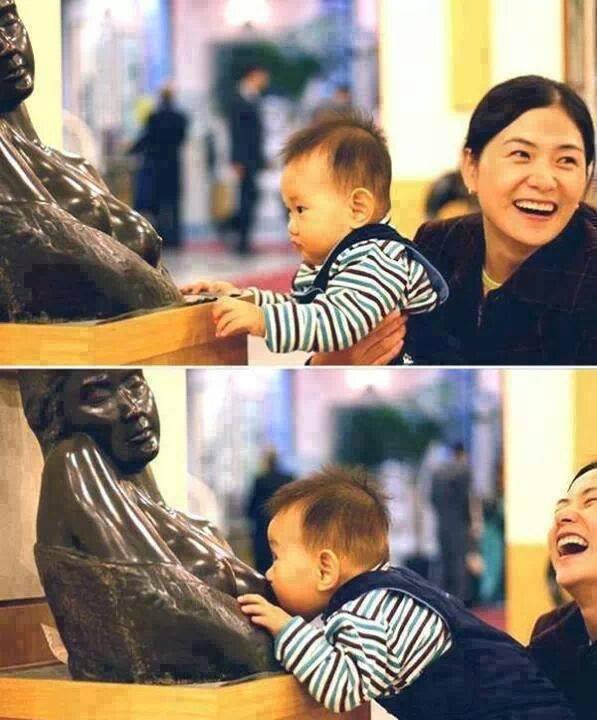 allattamento al museo