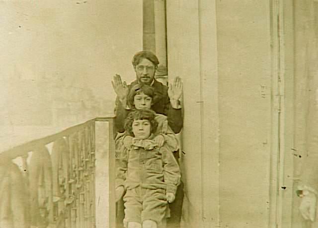 Pierre Bonnard con i figli