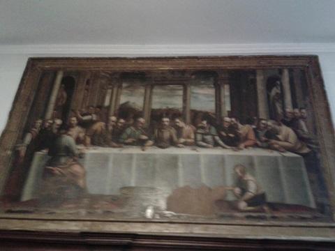 Ultima cena Luca Cambiaso 1575 moneglia
