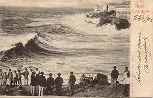 Nervi mareggiata 1902
